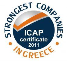 NETKO ICAP CERTIFICATE - STRONGEST COMPANIES IN GREECE