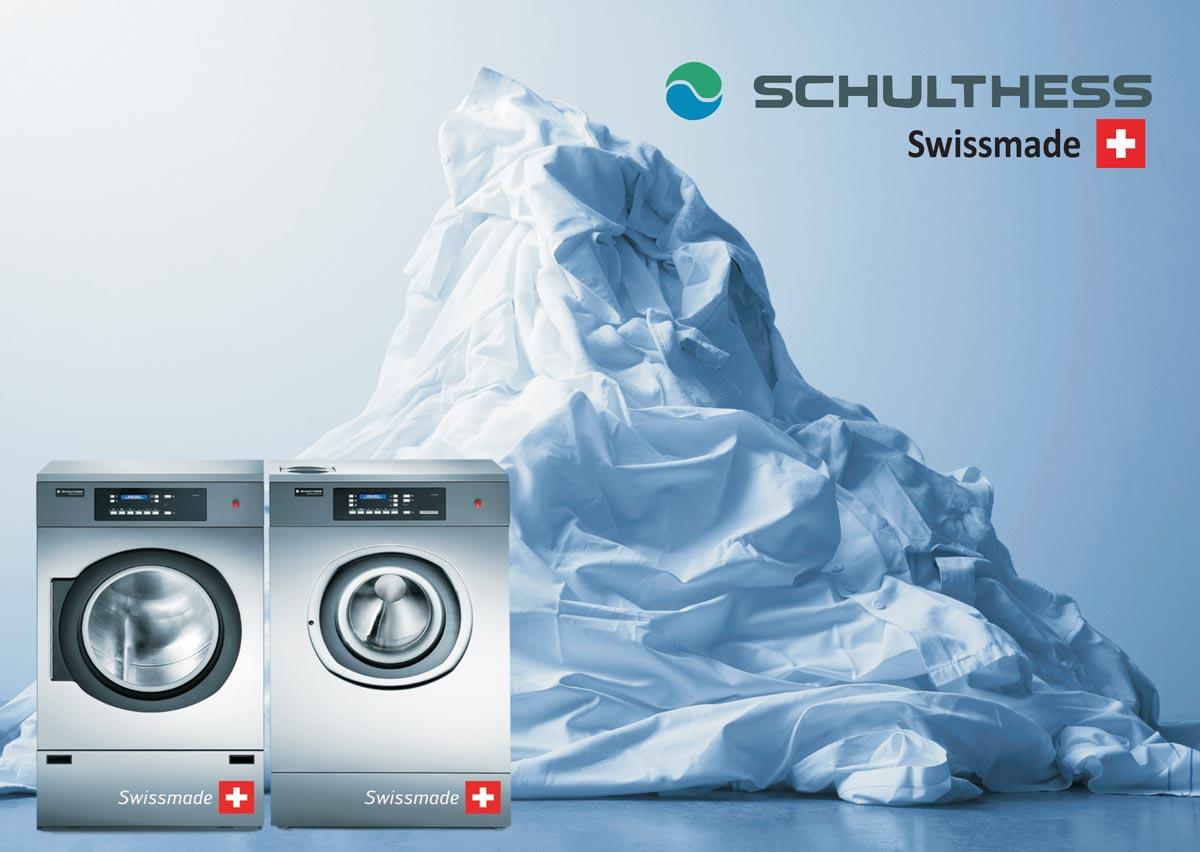 Schulthess Εξοπλισμοί Πλυντηρίων